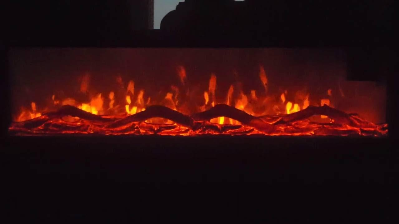 Foyer électrique mural 50  50 Wall mount electric fireplace  Yo -> Foyer Electric