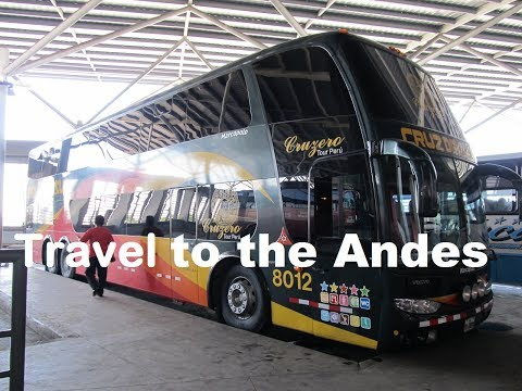 A ROAD TRIP IN BUS to Andes | from LIMA to Cusco, Andean Journey