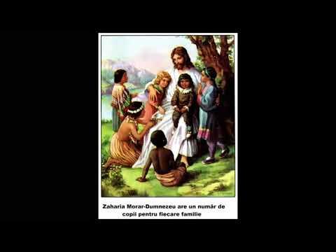 Zaharia Morar Dumnezeu are un număr de copii pentru fiecare familie