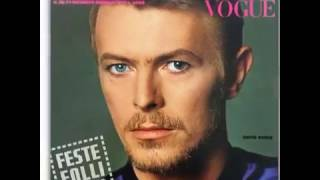 David Bowie - On the cover of a magazine