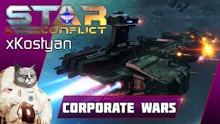 Star Conflict: T5 Dreadnoughts, [NASA] vs [TSrge] 'Battle for Smuggler's hideout'