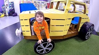 Indoor Playground & Trampoline Jumping & Ride on Car | Entertainment Play Area for Children