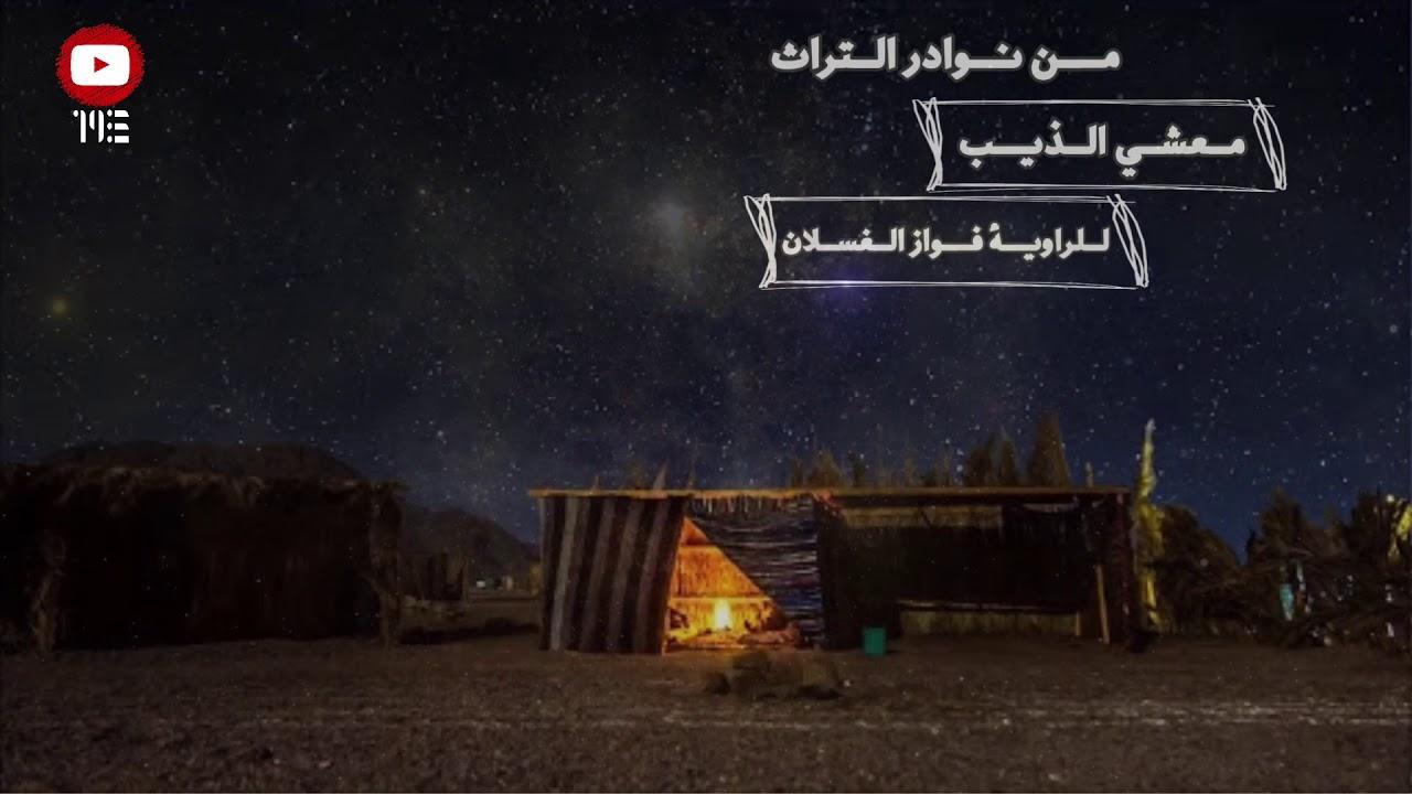 قصة وقصيدة | معشي الذيب