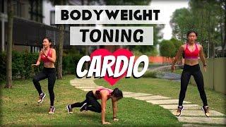 Bodyweight TONING Cardio | Intermediate to Advance | Bored of Treadmill | Joanna Soh
