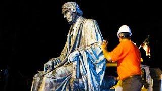 Pro-Slavery Statue Comes Down Overnight