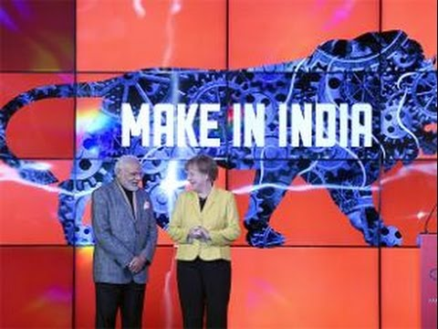 Narendra Modi, Angela Merkel jointly inaugurate India Pavilion at Hannover Trade Fair