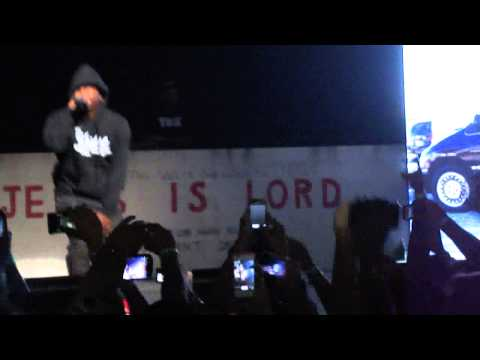 Kendrick Lamar-Westside Right On Time Live Club Nokia BET Music Matters Tour 10/17
