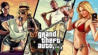 Grand Theft Auto V. Первый Взгляд от Брейна. XBOX 360