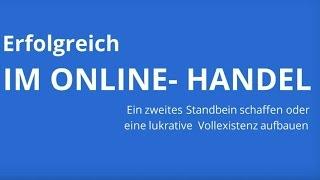 GESCHÄFTSIDEE INTERNET: Erfolgreich im Online-Handel - Der Kurs für Gründer - Video
