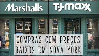 MARSHALLS E T.J MAXX EM NOVA YORK I NY