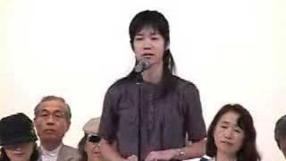 川田龍平を応援する1分マニフェスト(白澤史那さん)