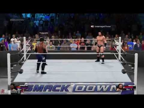 WWE 2K15 | Simulation Match | Markus Heraldry vs. Joshua Phoenix