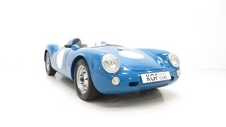 A Porsche 550 Spyder Martin & Walker replica Professionally Built - SOLD!