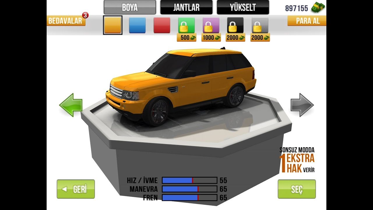 Traffic Racer New Cars