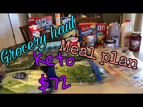 Keto Grocery Haul & Meal Plan| New yummy recipes