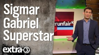 Christian Ehring: Sigmar Gabriel Superstar | extra 3 | NDR