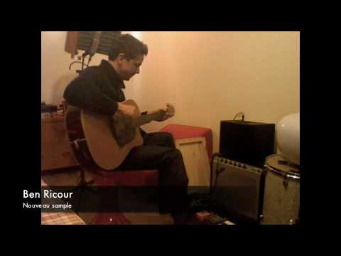 Ben Ricour - New Sample at home