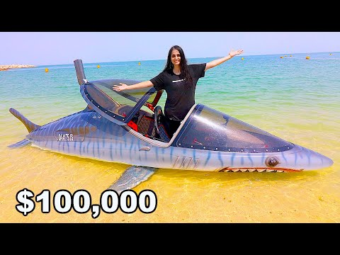 The $100,000 Underwater Jetski !!!