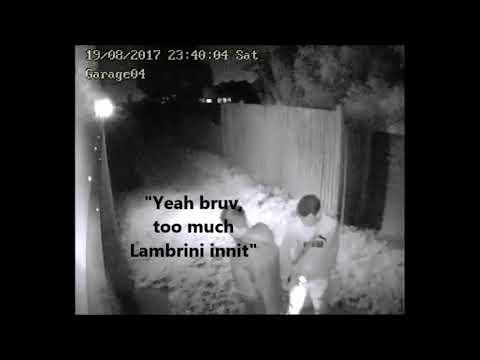 Chav date night in the alleway 19 08 2017