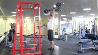 видео Штанга спортивная | Базовые упражнения со штангой дома | Диски для штанги