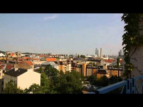 Dachterasse Ernst-Reuter Haus (house-of-nations) Blick über Berlin