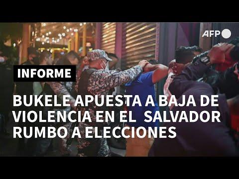 Baja En Violencia En El Salvador, La Carta Electoral De Bukele | AFP