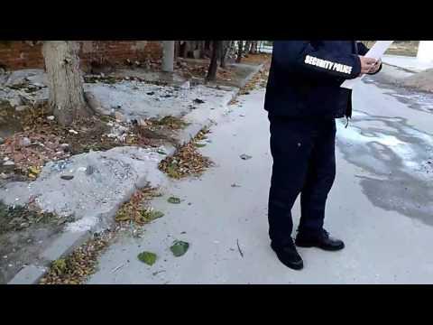 Как се прави на не чул и не видял кварталния полицай. Пазарджик.