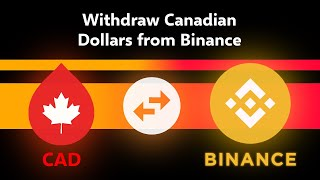 Binance Withdrawal To Bank Account In Canada 2021 Tutorial // Deposit Canadian (CAD) Step-By-Step