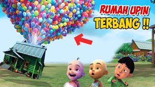 Download Rumah Upin ipin Terbang pakai Ratusan Balon , ipin senang ! GTA Lucu