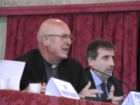 Mons.  Giovanni Giudici al convegno della CGIL sulla 'ngrangheta