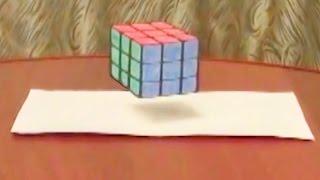 Летающий 3D куб. Это левитация? Полный восторг!!!(Мой второй канал: http://www.youtube.com/ZdorovTV - Как стать партнером YouTube и много зарабатывать. Мой опыт: http://youtu.be/jV0bSpinCwI..., 2014-01-24T06:06:15.000Z)