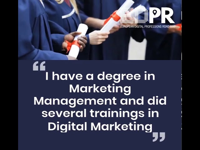 Digital Business Manager - EDPR Project - Digital Professionals