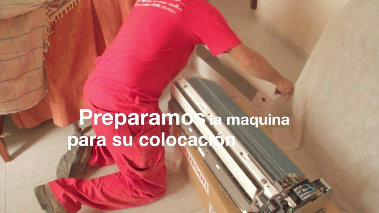 Como montar un aire acondicionado split muebles sarria for Como montar un aire acondicionado