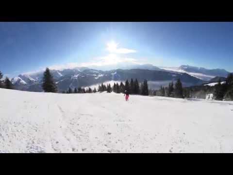 Piste de ski Epervier - Les Gets