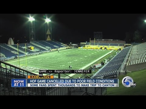 Hall of Fame game between the Green Bay Packers and Indianapolis Colts canceled