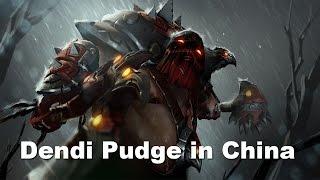 Dendi Pudge Beyond Godlike in WEC(China) Dota 2