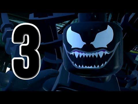 LEGO Marvel Super Heroes Movie Walkthrough 03 HD1080p - SpiderMan Venom Hawkeye - No Commentary