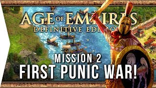Age of Empires: Definitive Edition ► #2 First Punic War! - [Campaign Gameplay]