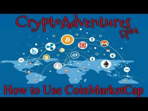 CoinMarketCap - How To Use For Crypto Prices And Information