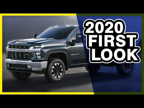 2020 Chevy Silverado HD (First Look & Wade's Opinions) *New Pics*