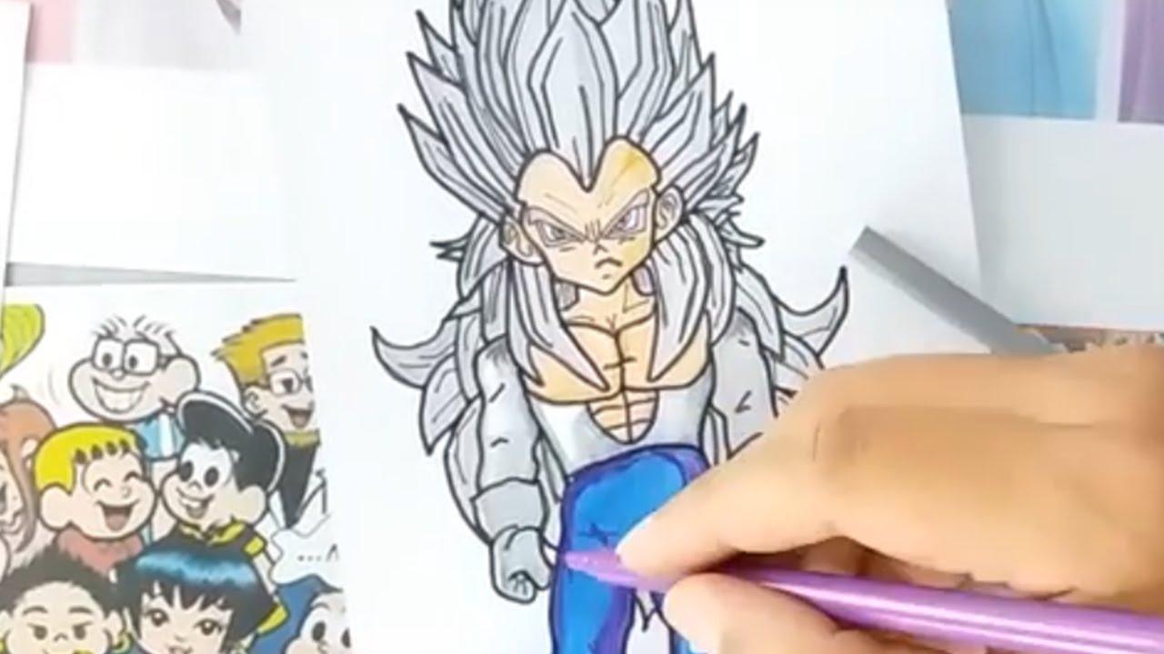 Goku Para Colorear Pintar E Imprimir: Dibujos Para Colorear