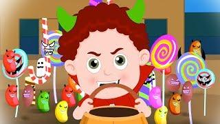 Halloween Candy | Schoolies Cartoons | Halloween Videos for Children