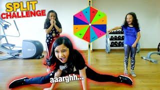 Challenge SPLIT Selama ANGKA Di Spinner | **Aku NYERAH** :(
