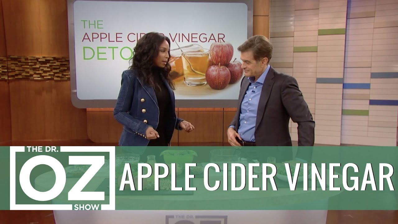 The Apple Cider Vinegar Detox to Beat Belly Fat #1
