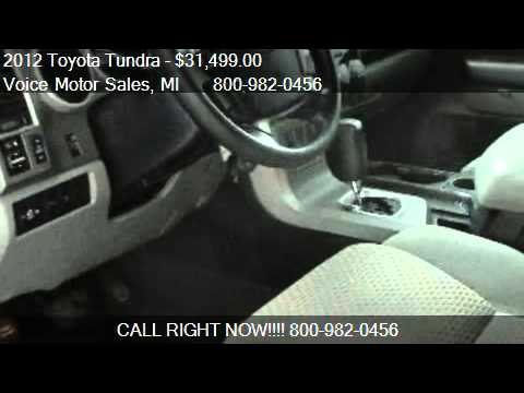 2012 toyota tundra sr5 trd off road 4x4 crewmax short for for Voice motors kalkaska michigan
