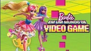 Barbie™ em um Mundo de Video Game   Filme Completo