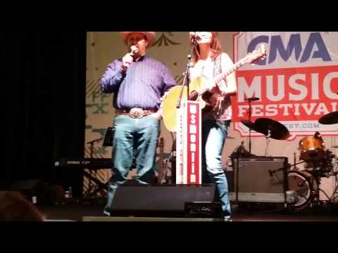 Golden Ring at CMA Fest 2015