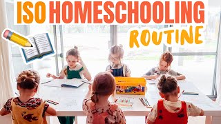 We wanted to share with you guys a basic run down routine of the way are homeschooling our 6 kids while going through self isolation at home.we hope ...