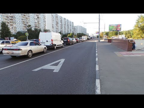 Как высадить пассажира на улице с выделенной полосой