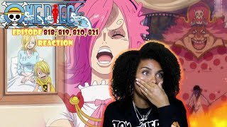 SORAS SACRIFICE BIG MOM IS NO JOKE  ONE PIECE EPISODE 818, 819, 820, 821 REACTION